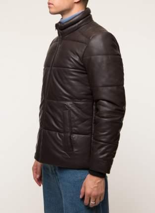 Кожаная куртка мужская Gotthold B1 коричневая 48 RU