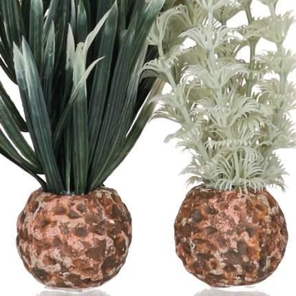 Искусственное растение для аквариума biOrb Амбулия серая/зеленая, набор, низкий, 20см