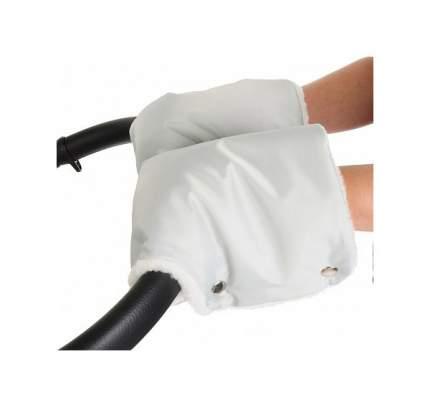 Муфта-рукавички для коляски Карапуз Ллюкс, серая