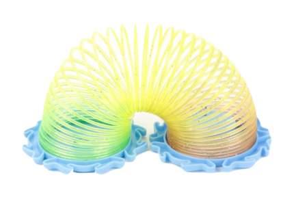 Шагающая пружинка Наша игрушка Радуга с блестками