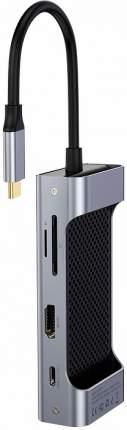 USB-концентратор Baseus Square Desk RJ45 CATXF-0G (Deep Grey)