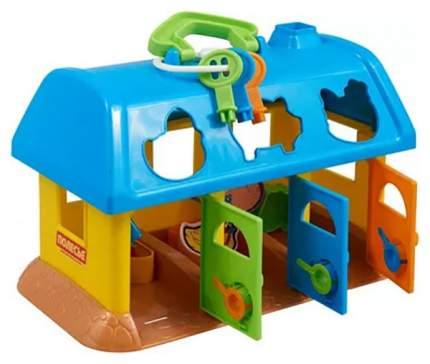 Развивающая игрушка Полесье Домик для зверей в сеточке