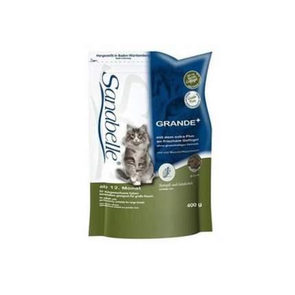 Сухой корм для кошек Sanabelle Grande, для крупных пород, домашняя птица, 0,4кг