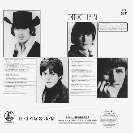Виниловая пластинка The Beatles Help! (LP)