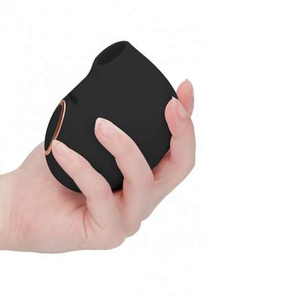 Вакуумно-волновой стимулятор клитора Irresistible Seductive Black