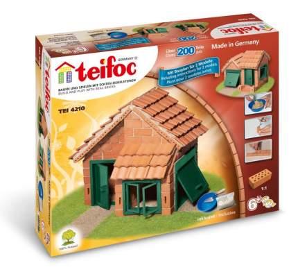 Конструктор Teifoc Tei 4210 дом с черепичной крышей