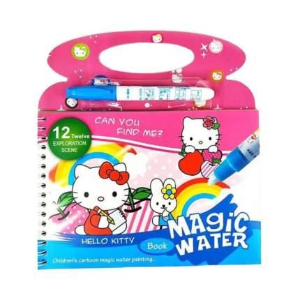 Многоразовая водная раскраска Magic Water с Hello Kitty, водный маркет в комплекте