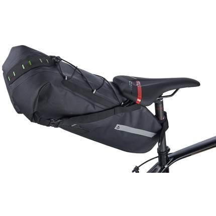 Велосипедная сумка Merida Big Saddle Bag черная/серая