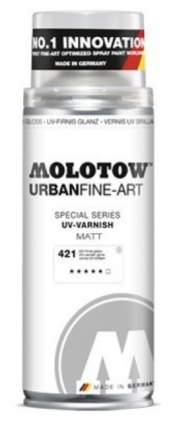 Лак аэрозольный Molotow Urban Fine-Art 400мл