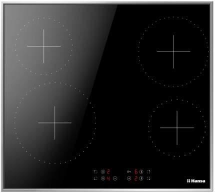 Встраиваемая варочная панель электрическая Hansa BHCI66377 Black