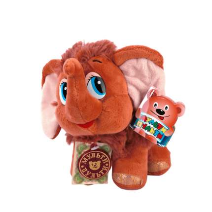 Мягкая игрушка Мульти-Пульти Мамонтенок ищет маму. мамонтенок 20 см