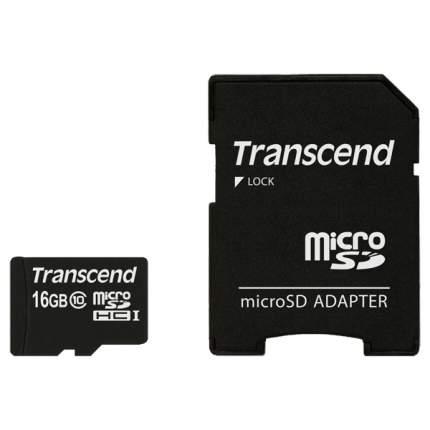 Карта памяти Transcend Micro SDHC TS16GUSDHC10 16GB
