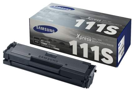 Картридж для лазерного принтера Samsung MLT-D111S, черный, оригинал