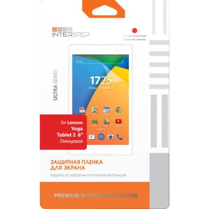 "Пленка InterStep для LenovoYoga Tablet 2 8"""
