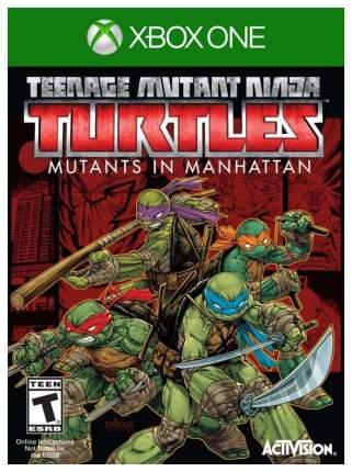 Игра Teenage Mutant Ninja Turtles Mutants in Manhattan для Xbox One