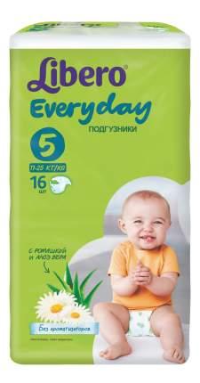 Подгузники Libero Everyday Size 5 (11-25кг), 16 шт.
