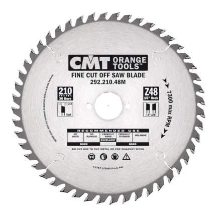 Пильный диск 210x30x2,8/1,8 15° 15° ATB Z=64 292.210.64M