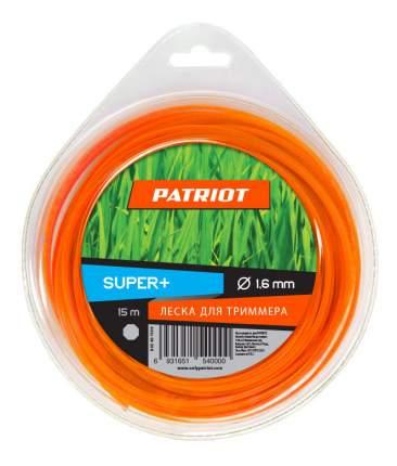 Леска для триммера PATRIOT Super Plus D 1,6 мм L 15 м 805401100