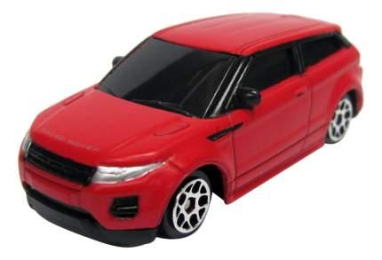 Машина металлическая Uni-Fortune 1:64 Range Rover Evoque без механизмов красный матовый