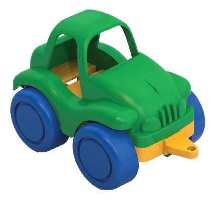 Машина легковая Нордпласт Нордик, зеленая