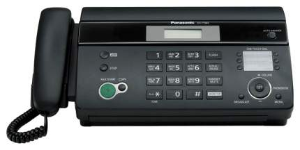 Факс Термо Panasonic KX-FT982RU черный