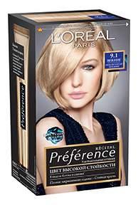 Краска для волос L'Oreal Paris Preference оттенок 9,1 Викинг