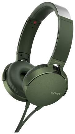 Наушники Sony MDR-XB550 Green