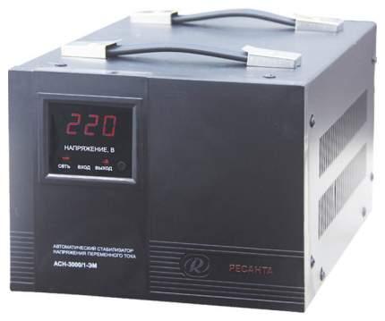 Однофазный стабилизатор Ресанта ACH-3000/1-ЭМ