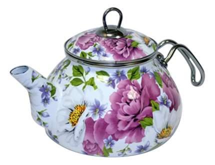 Чайник для плиты Пион эмалированный, 2,2л