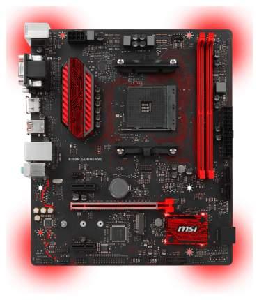 Материнская плата MSI B350M Gaming Pro