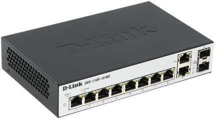 Коммутатор D-Link Metro Ethernet DGS-1100-10/ME/A1A Серый, черный