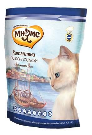 Сухой корм для кошек Мнямс Блюда высокой кухни, Катаплана по-португальски(с форелью),0,4кг