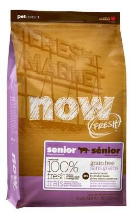 Сухой корм для кошек NOW Fresh Senior, для пожилых, индейка, утка, 3,63кг
