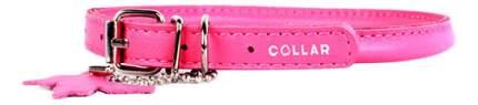 Ошейник COLLAR GLAMOUR круглый для длинношерстных собак, 6мм, 25-33см, розовый