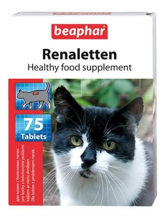 Витаминный комплекс для кошек Beaphar Renaletten, при проблемах с почками 75 таб