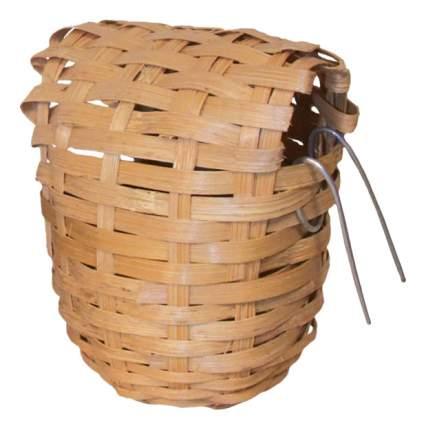 Гнездо для канарейки из лозы 52011008, d90х100мм