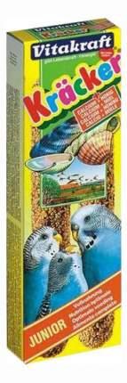 Лакомства для птиц Vitakraft крекеры для волнистых попугаев кальций, мед