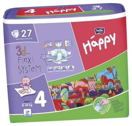 Подгузники Bella Baby Happy Maxi 4 (8-18 кг), 27 шт.