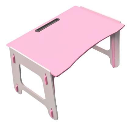 Стол Играем-собираем Фигурный ДШ №0 розовый