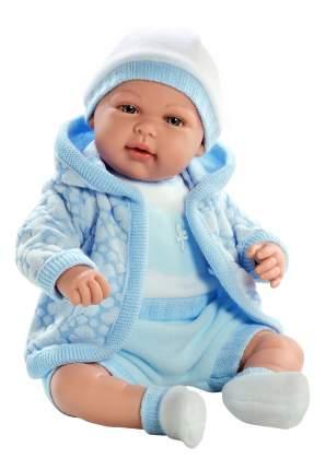 Кукла Arias Elegance в теплой голубой курточке, 45 см