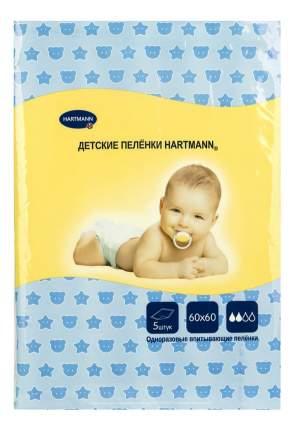 Пеленки для детей Hartmann (60x60 см), 5 шт.