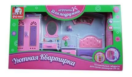 Спальня 100202733 для кукольного дома S+S Toys