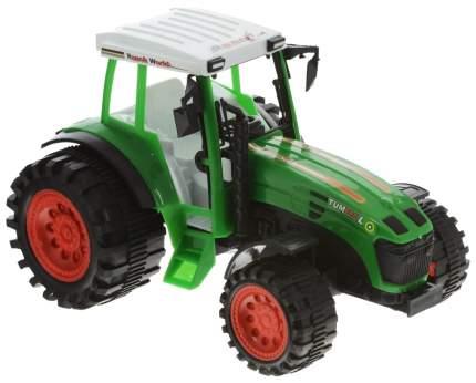 Строительная техника Junfa toys Ranch World зеленый 27x18x16 см