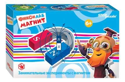 Семейная настольная игра Step Puzzle Фиксилаб Магнит 76167