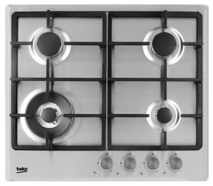 Встраиваемая варочная панель газовая Beko HIMW 64225 SX Silver