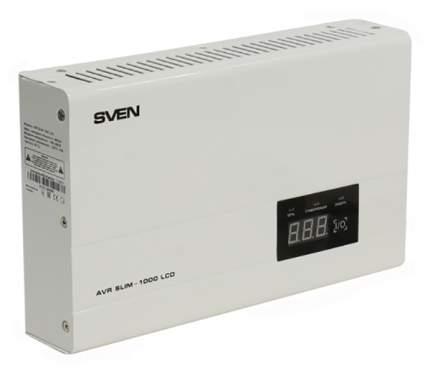 Автоматический стабилизатор напряжения SVEN AVR SLIM-1000 LCD