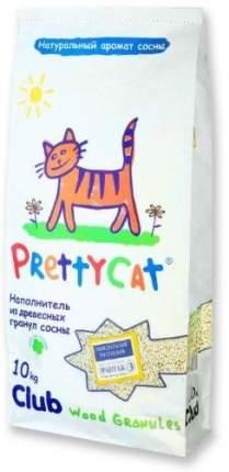 Наполнитель для туалета Prettycat Впитывающий 10 кг Хвоя