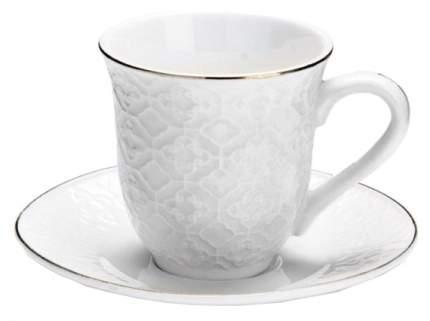 Кофейный сервиз Loraine 26822 Белый, золотистый