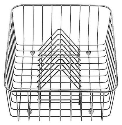 Корзина для посуды с держателями нерж, сталь 405 х 308 х 136 мм