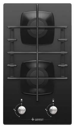Встраиваемая варочная панель газовая GEFEST пВГ 2002 Black